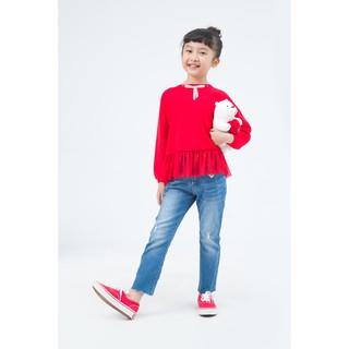 IVY moda Áo len bé gái MS 58G0301