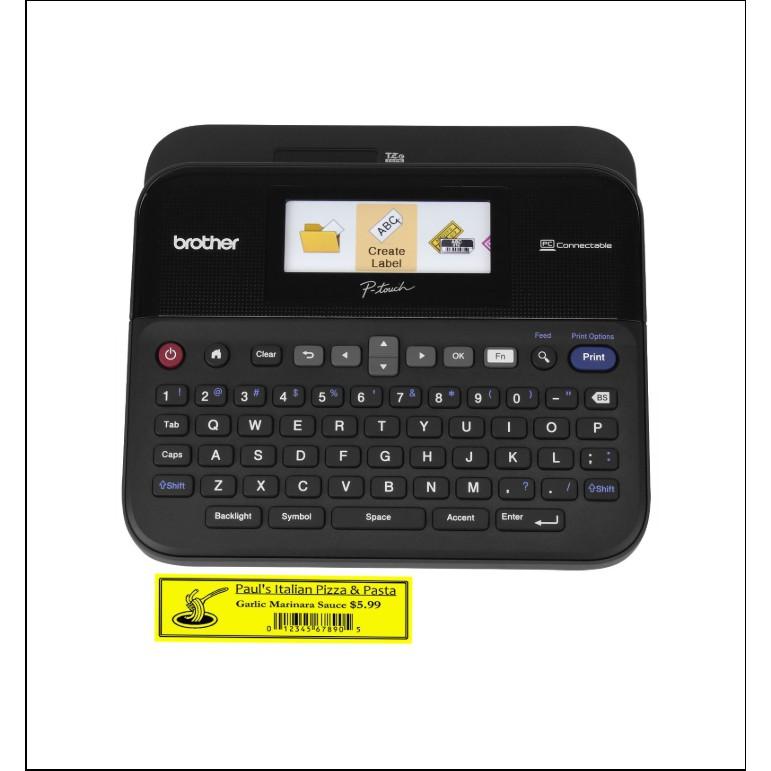 Máy in nhãn Brother PT-D600 Giá chỉ 3.152.500₫