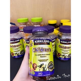 2 Lọ Kẹo Dẻo Bổ Sung Vitamin Cho Bé Kirkland Signature 320v