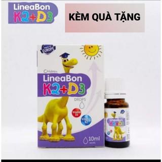 Mua combo 2 lọ LINEOBON D3 & K2 tăng chiều cao cho trẻ từ sơ sinh