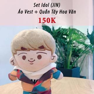 Outfit doll BTS Set IDOL JIN (không kèm doll)