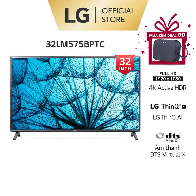 Smart FHD Tivi LG 32 Inch 32LM575BPTC ThinQ AI – Model 2021 – Miễn phí lắp đặt