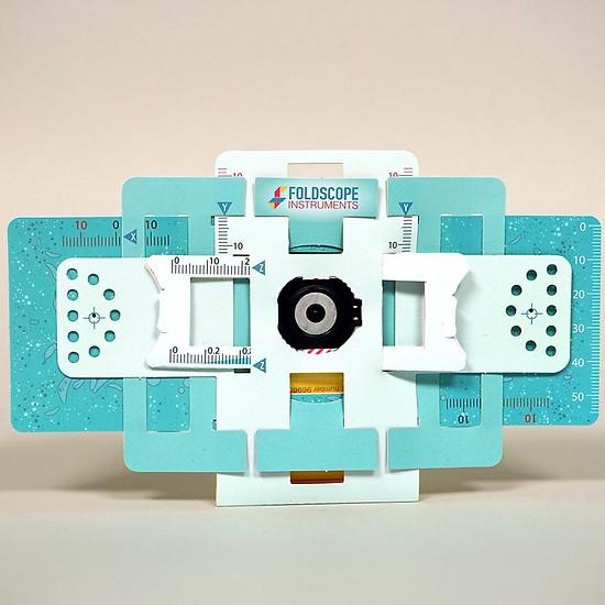Kính hiển vi bằng giấy Foldscope - khám phá vi thế giới kỳ diệu - Hàng chính hãng