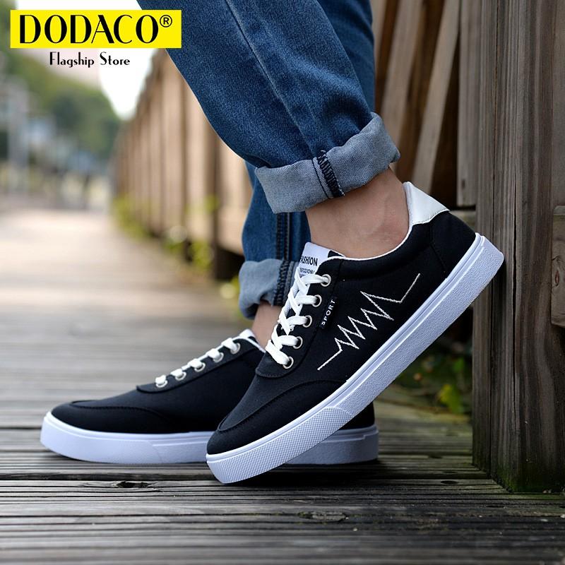[Freeship] - Giày sneaker vải nam thời trang DODACO TTS0021 (Đen Xám Xanh Trắng) - 2667401 , 990335092 , 322_990335092 , 168571 , Freeship-Giay-sneaker-vai-nam-thoi-trang-DODACO-TTS0021-Den-Xam-Xanh-Trang-322_990335092 , shopee.vn , [Freeship] - Giày sneaker vải nam thời trang DODACO TTS0021 (Đen Xám Xanh Trắng)