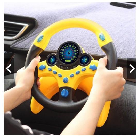 Vô lăng xe hơi cho bé siêu hot- Vô lăng ô tô mô phỏng, đồ chơi ô tô cho bé