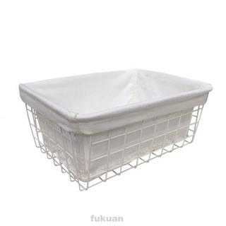 Bathroom Iron Wire Kitchen Laundry Refrigerator Storage Basket