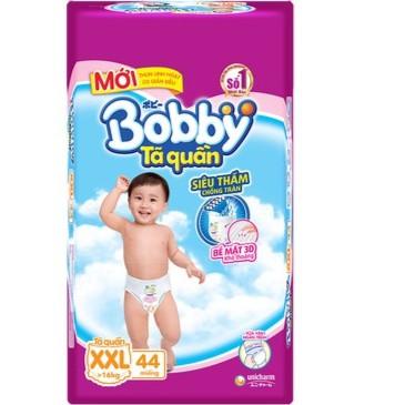 Tã - BỈM Quần Bobby size XXL44 QUẦN (CHO BÉ TRÊN 16KG) DATE 2021