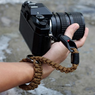 [CAMERA] Dây Đeo Cổ Tay, Handstrap dành cho máy ảnh sử dụng chốt thao tác nhanh đan Paracord phối màu