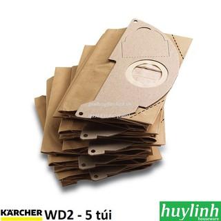 Bộ 5 túi lọc bụi Karcher WD2 - 6.904-322.0
