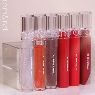[HOT COMBO TIẾT KIỆM] Son Tint Nước Romand Glasting Water Tint Kết Hợp Cùng Son Tint Bóng Romand Glasting Water Gloss