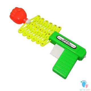 Retractable Fist Shooter Trick Toy Gun Kids Gift Elastic Telescopic Fist