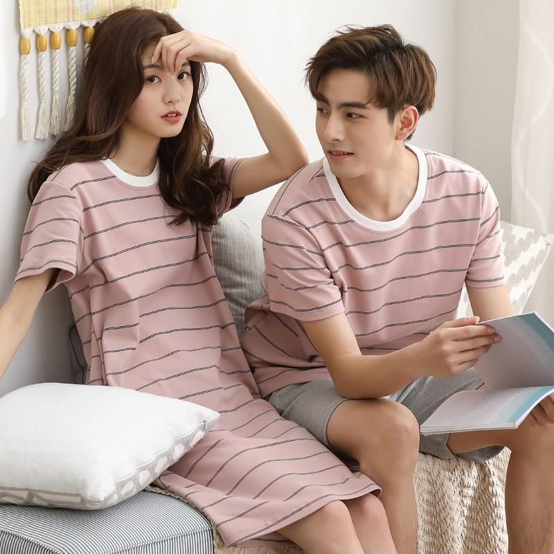 set đồ đôi vợ chồng mặc ở nhà