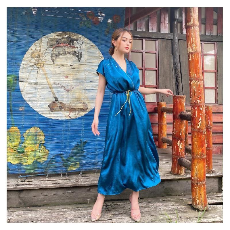 Váy Lụa - Đầm Lụa - Dạo Phố, Dự Tiệc