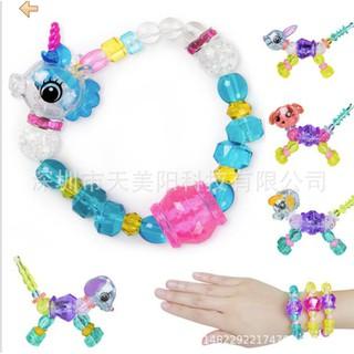 Vòng đeo tay tạo hình con thú độc đáo đẹp mắt [ Vòng đeo tay thú cưng biến đổi bất ngờ Magic Pet Beads ]