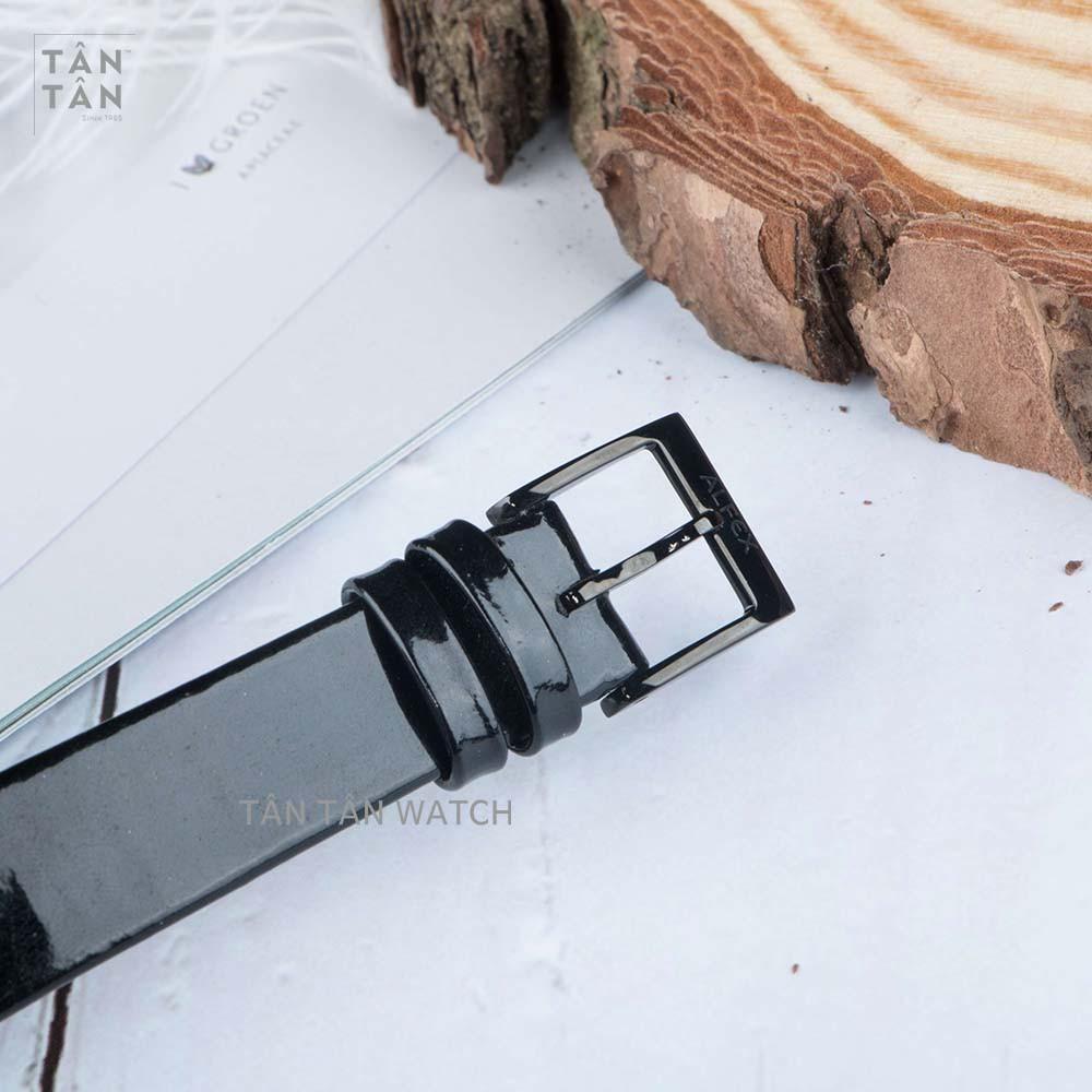 Đồng Hồ Thụy Sỹ Nữ ALFEX 5701/858 - Thời Trang Dây Da Size 36mm