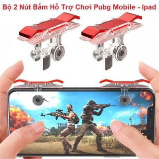 Bộ 2 Nút Bấm Chơi Game, Hỗ Trợ Chơi Pubg Mobile, Ros Mobile Trên Mobile Ipad - Siêu Bền thumbnail