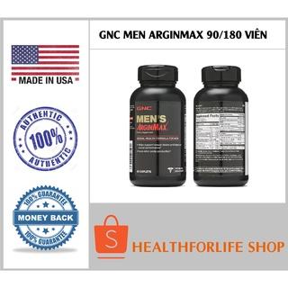 USA - GNC MEN ARGINMAX 90 180 viên danh cho nam giới tăng cường sinh lực, bản lĩnh phái mạnh thumbnail