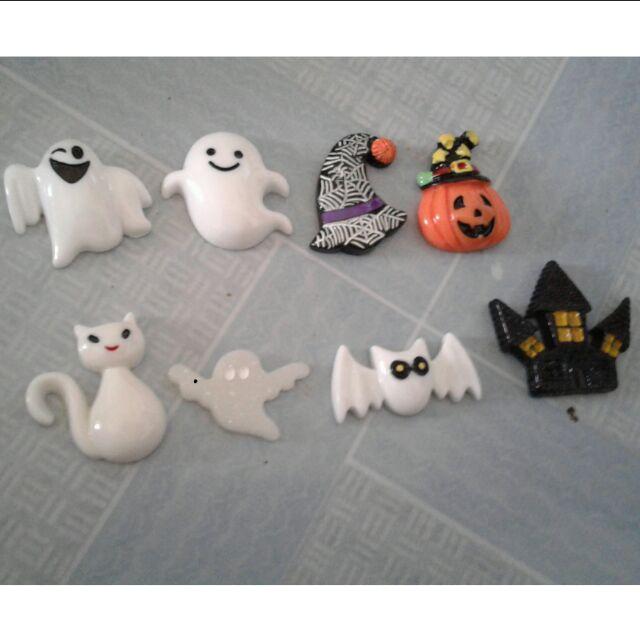 Combo charm halloween / trang trí slime