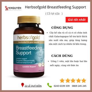 [CHÍNH HÃNG] Viên lợi sữa Breastfeeding Support Herbs of Gold – Úc