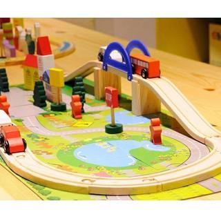 Mô hình thành phố mini bằng gỗ