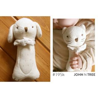 JOHN N TREE Lục lạc bông cầm tay organic cotton