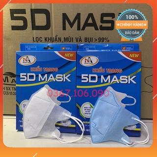 Khẩu Trang 3D Mask FAMAPRO NAM ANH Hộp 10 Cái thumbnail