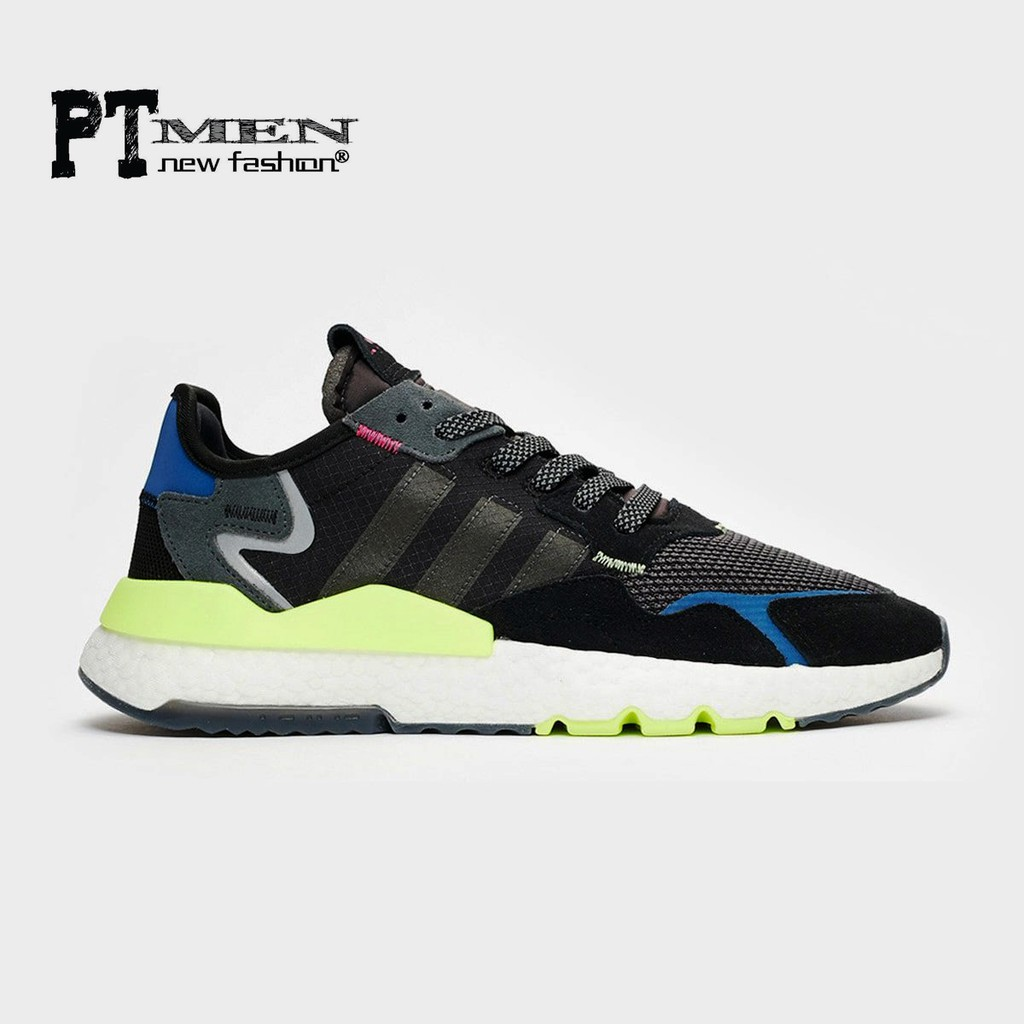Giày Sneaker Nite Jogger 2019 Time Neon Vibes
