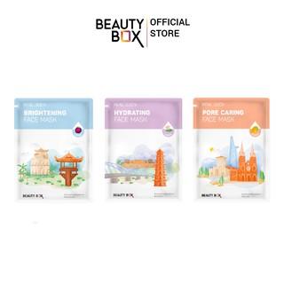 Combo 3 Mặt Nạ Beauty Box Real 20GX3 thumbnail