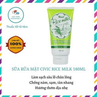 Sữa rửa mặt gạo Civic Rice Milk Thái Lan - 180ml thumbnail