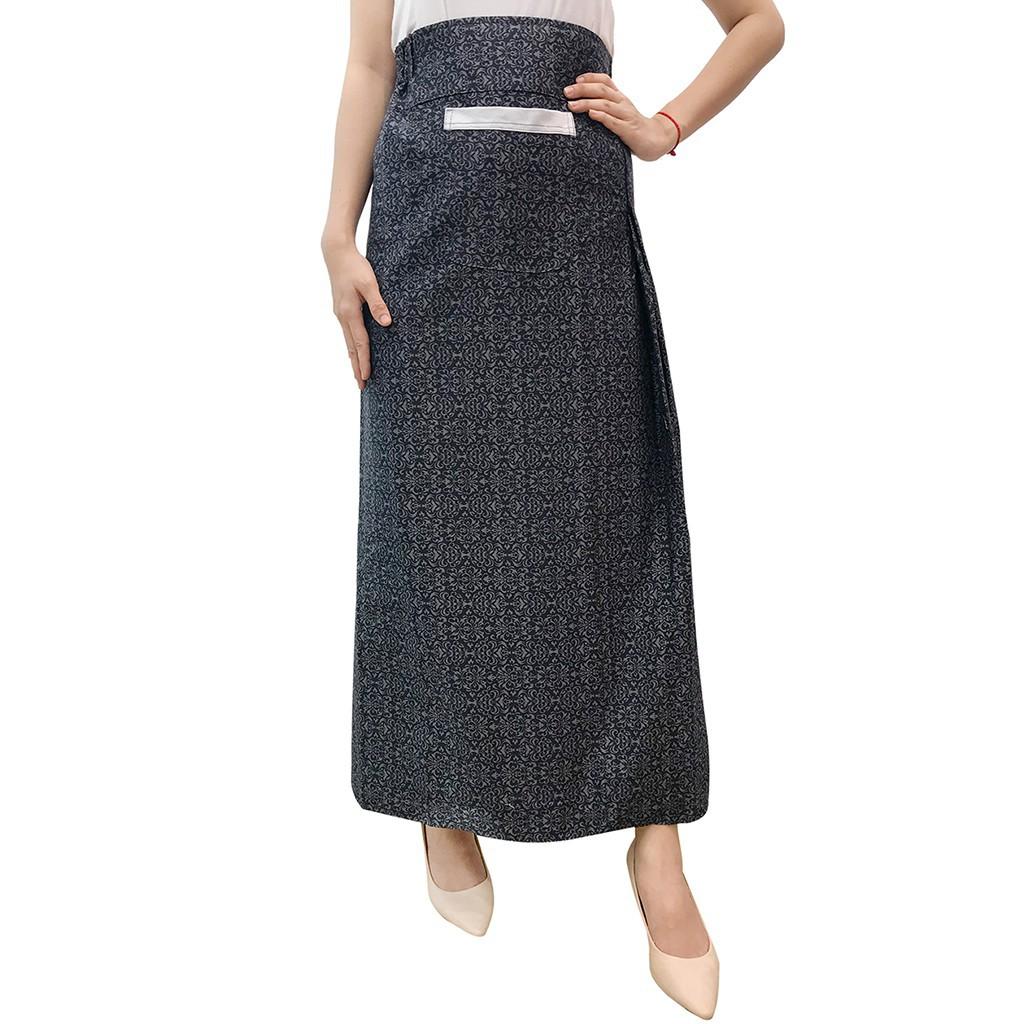 Váy chống nắng kaki một tà VKMT0006-CHEN
