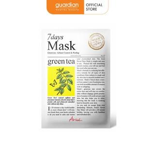 Mặt Nạ Giấy Ariul 7 Days Mask Hương Tra Xanh 20g thumbnail