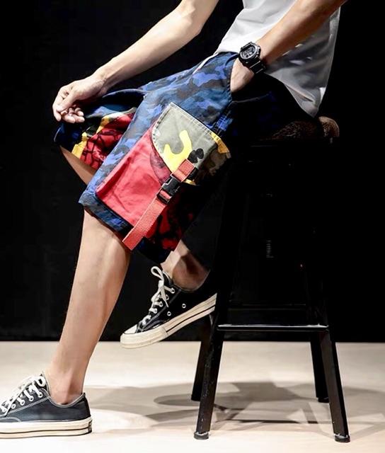 Quần Short Nam túi hộp ngắn/Quần Short Baby vải Polyester