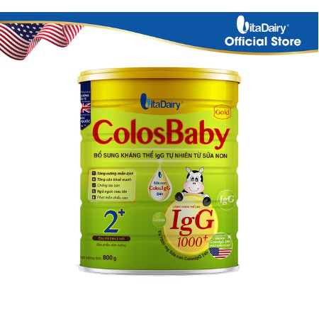 Sữa non ColosBaby Gold - Số 0,1,2 Hộp 800g
