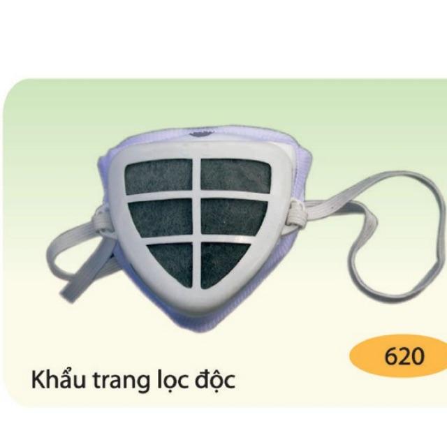 Khẩu trang phòng độc chống bụi KVD01