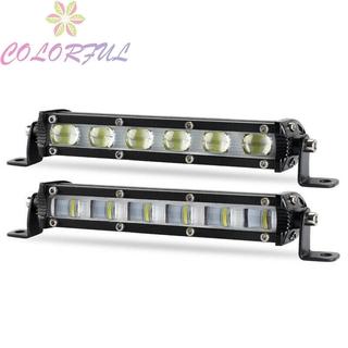 Light Bar New Arrival Tank 7inch Bus Flood Single Row 6D Optical Design Driving Lamp SUV Wagon Train Motorcycle