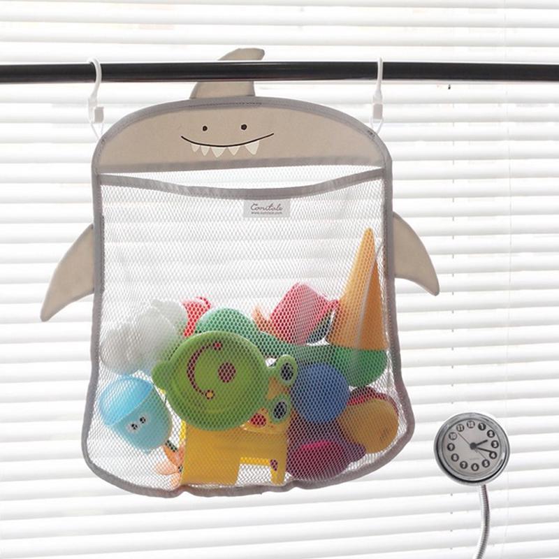 Baby Bathroom Basket Bath Toy Collection Net Waterproof Storage Bag