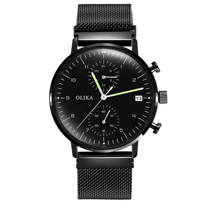 Đồng hồ nam OLIKA chạy Full kim khoá nam châm cao cấp - 3574075 , 1251325415 , 322_1251325415 , 1500000 , Dong-ho-nam-OLIKA-chay-Full-kim-khoa-nam-cham-cao-cap-322_1251325415 , shopee.vn , Đồng hồ nam OLIKA chạy Full kim khoá nam châm cao cấp