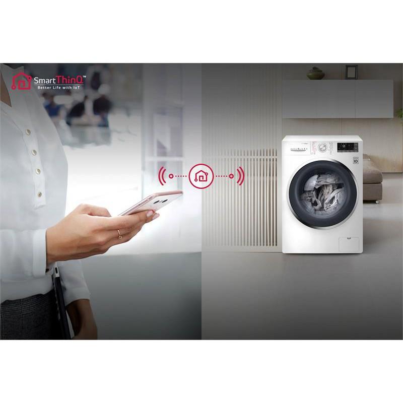 Máy giặt LG FC1409S3W, 9kg điều khiển thông minh - 2403924 , 54272244 , 322_54272244 , 15900000 , May-giat-LG-FC1409S3W-9kg-dieu-khien-thong-minh-322_54272244 , shopee.vn , Máy giặt LG FC1409S3W, 9kg điều khiển thông minh