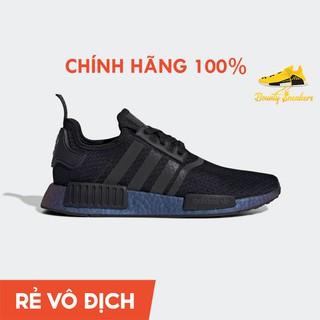 Giày Sneaker Thời Trang Nam Adidas NMD R1 Đen Xanh FV3645 - Hàng Chính Hãng - Bounty Sneakers thumbnail