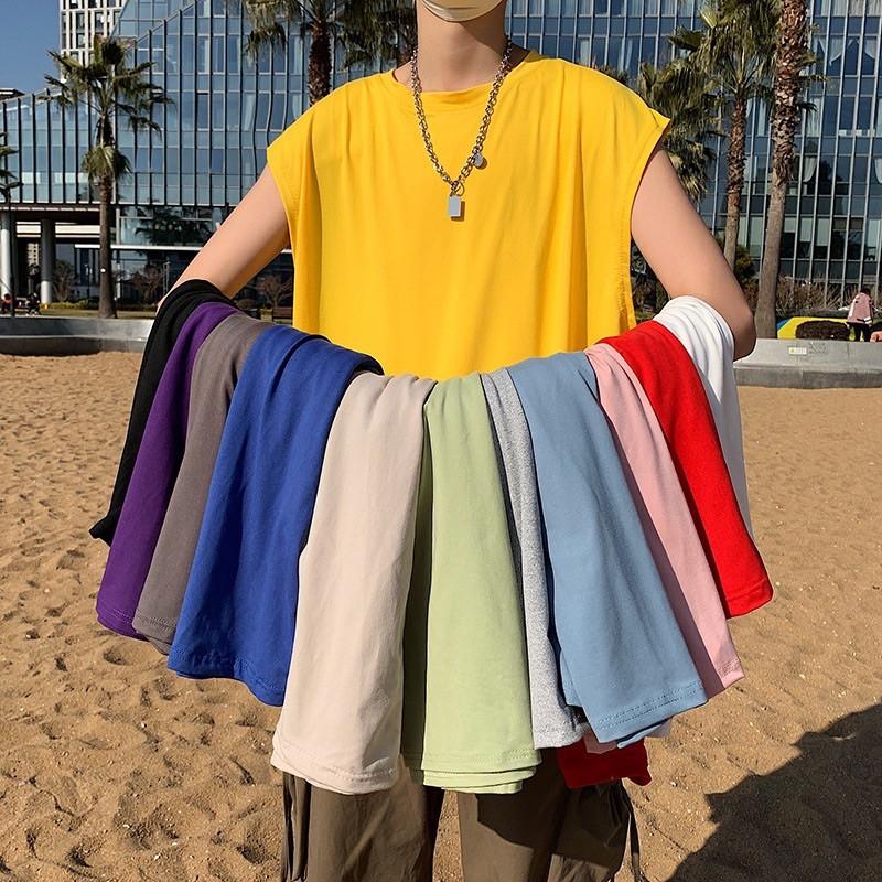 áo ba lỗ form rộng - tanktop trơn nam nữ - Khỏe khoắn - Năng động- cam kết đổi trả freeship nếu hàng lỗi