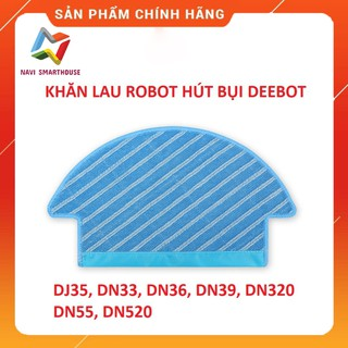 Khăn lau robot hút bụi Ecovacs Deebot DJ35, DN33, DN320, DN36, DN39, DN55, DN520 thumbnail