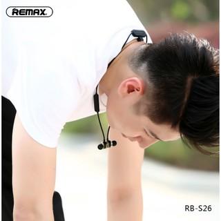[Mã ELFLASH5 giảm 20K đơn 50K] Tai nghe nhét tai không dây Bluetooth 5.0 Remax RB-S26