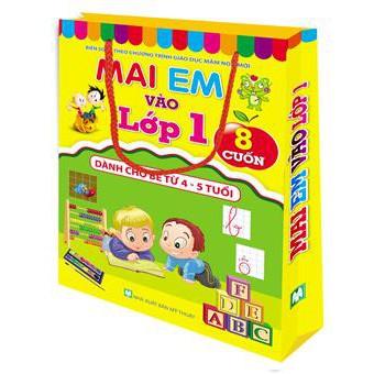 Túi Mai em vào lớp 1 ( 8 cuốn dành cho bé từ 4-5 tuổi ) - 3061161 , 630316504 , 322_630316504 , 86000 , Tui-Mai-em-vao-lop-1-8-cuon-danh-cho-be-tu-4-5-tuoi--322_630316504 , shopee.vn , Túi Mai em vào lớp 1 ( 8 cuốn dành cho bé từ 4-5 tuổi )