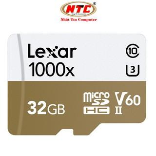Thẻ nhớ microSDHC Lexar Professional 32GB 1000x UHS-II U3 V60 Read 150MB s Write 75MB s (Trắng) - Không box thumbnail