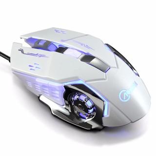 ( CÓ VIDEO ) Chuột có dây game thủ G502 Q5 cực bền thiết kế độc lạ có LED – Trắng
