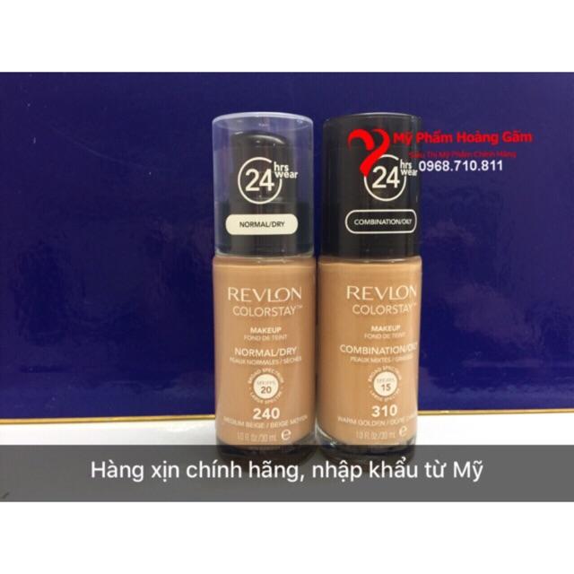 Kem nền Revlon Colorstay Makeup 24h USA 30 ml