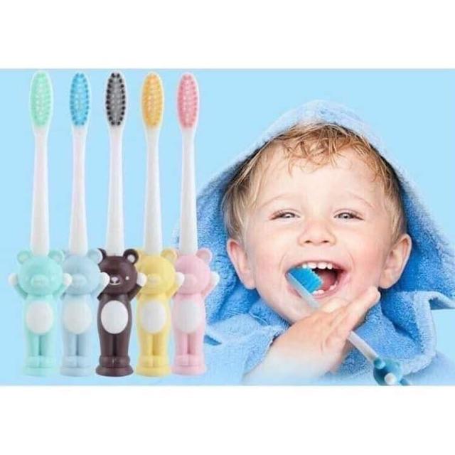 SET 4 bàn chải đánh răng cho bé