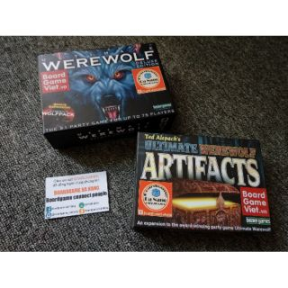 [COMBO] BOARDGAME MA SÓI ULTIMATE DELUXE và ARTIFACTS VIỆT HOÁ