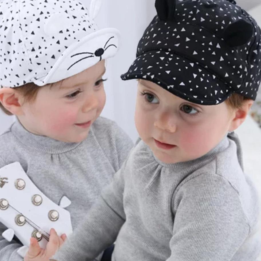 Mũ chống nắng thiết kế xinh xắn cho bé