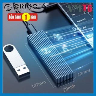 Box ổ cứng SSD M2 NVME M.2 SATA to USB Type-C làm ổ di động ORICO M2PV-C3 M2PF-C3 - Bảo hành 12 tháng !